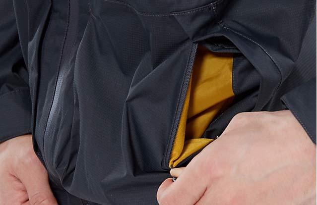 вентиляция в мембранной куртке