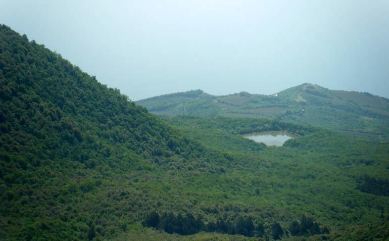 Вид с Бабуган-яйлы