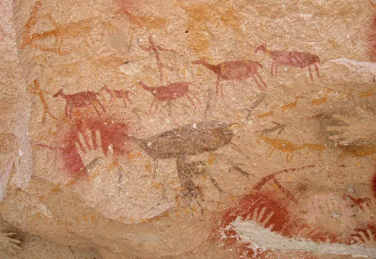 Пещера Куева де лас Манос